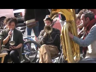 Swinging with Tuba Skinny in New Orleans